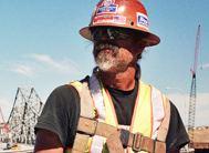 Ironworker at work