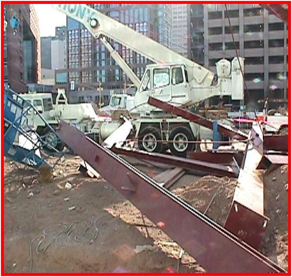 Anchor Belt Failure and Column Collapse